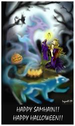 Happy Halloween, Happy Samhain by IngwellRitter