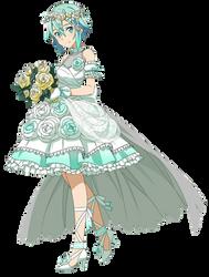 Bride Sinon Render by TheGothamGuardian