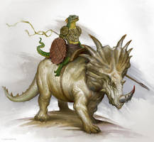 Lizardfolk1 by firatsolhan