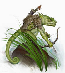 Chameleon scout by firatsolhan