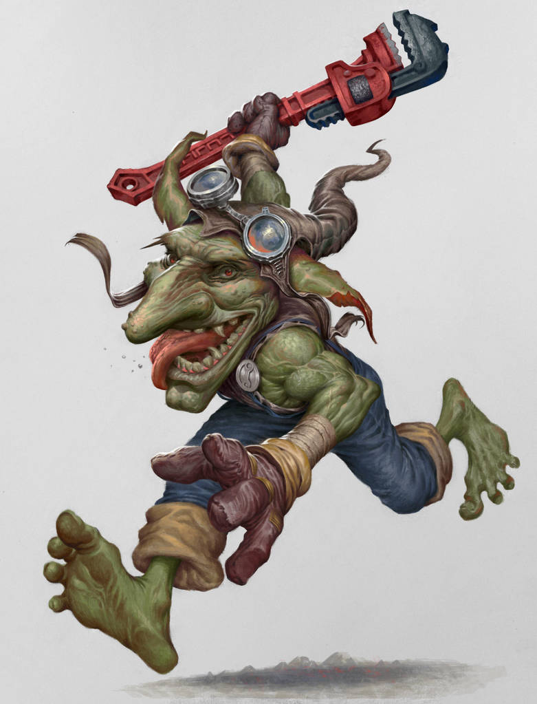 Goblin engineer by firatsolhan
