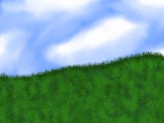 Landscape by SweetCreeper132PL