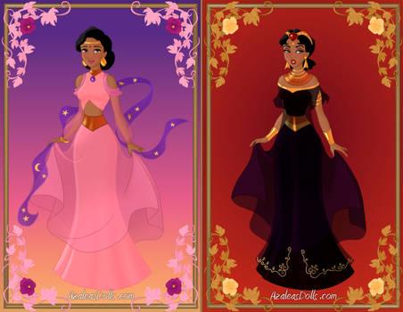 Arabian Dress-up Game by AzaleasDolls