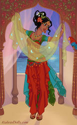 Indian Dancer Game by AzaleasDolls