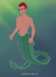 Preview for the Merman by AzaleasDolls