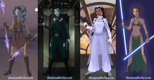 Sci-fi Warrior Dress up Game by AzaleasDolls