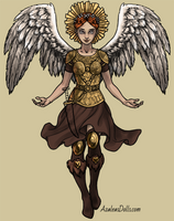 Upcoming angel dress-up by AzaleasDolls