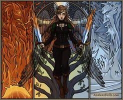 Epic Angel dress up game - update by AzaleasDolls