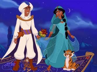 Arabian Nights Scene Maker by AzaleasDolls