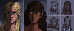 Next game: Elven Portrait by AzaleasDolls