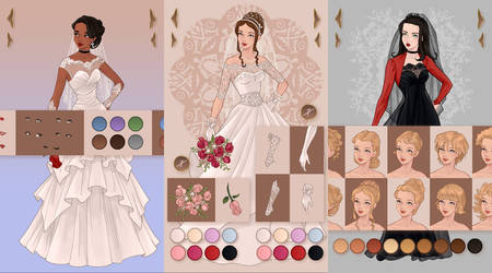 Wedding Dress Design: Android App by AzaleasDolls