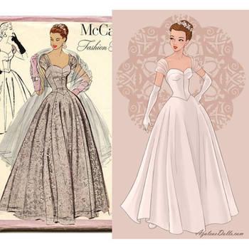 Wedding Dress Game by AzaleasDolls