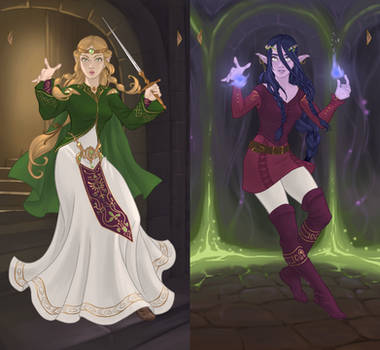 Magical Elf Progress by AzaleasDolls
