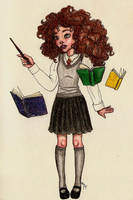 Hermione Granger by matali