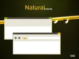 Natural metacity - Mockup by 0rAX0