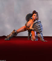 Vicky The Warrior (04-06) by Chris3DX