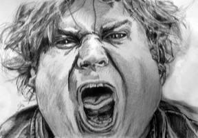 Chris Farley by joehortonart