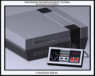 Nintendo Entertainment System by sinnedaria
