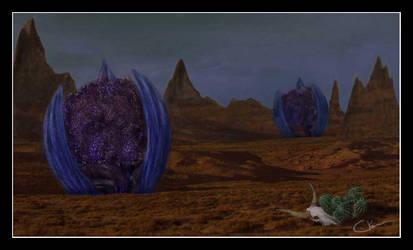 Desert Pods by sinnedaria