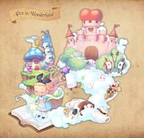Alice in wonderland by dakun87