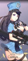 officer caitlyn by dakun87