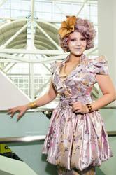Effie Trinket Costume by TheOriginalAKTREZ