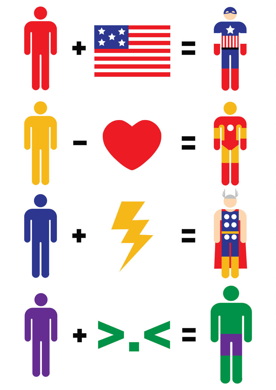 Avengers Maths by mattcantdraw