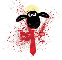 Shaun of the Sheep by mattcantdraw