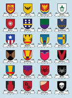 Superhero Clans by mattcantdraw