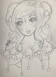Cosmos -Stars and Bubbles- by PrettyLadyCosmos