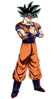 Goku (New Form) by hirus4drawing