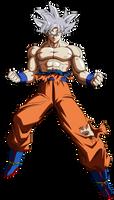Goku (Ultra Instinct) by hirus4drawing