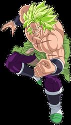 Broly (Legendary Super Saiyan) by hirus4drawing