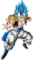Gogeta (Super Saiyan Blue) by hirus4drawing