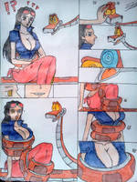 Nico Robin snack pirate page 03 by takoyaky-kun