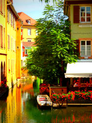 Like a Painting (2): Colmar City in Summer by Cloudwhisperer67