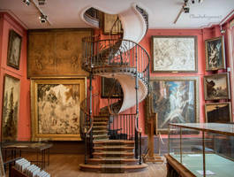Amazing Spiral Staircase - Paris by Cloudwhisperer67