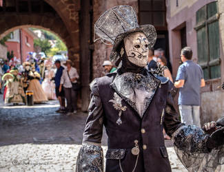 Carnival of Venice in Riquewihr 2018 (1) by Cloudwhisperer67