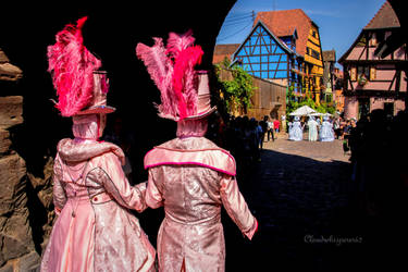 Carnival of Venice in Riquewihr 2018 (2) by Cloudwhisperer67