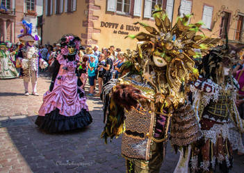 Carnival of Venice in Riquewihr 2018 (3) by Cloudwhisperer67