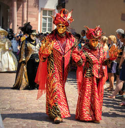 Carnival of Venice in Riquewihr 2018 (4) by Cloudwhisperer67