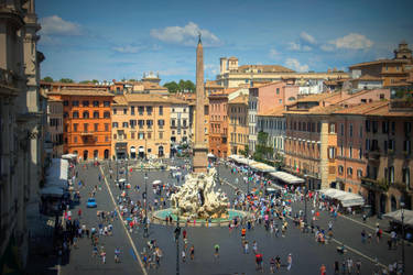 Piazza Navona - Rome 2018 by Cloudwhisperer67