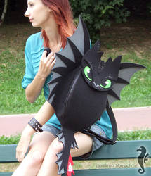 Toothless Backpack III by bt-v