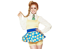 Lizzy (Orange Caramel) png [render] by Sellscarol