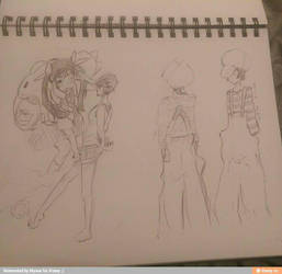 Art Dump 7 by FallenKaze