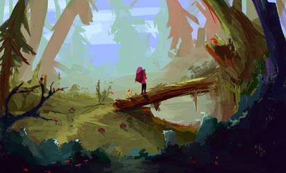 Forest traveler by eltowergo