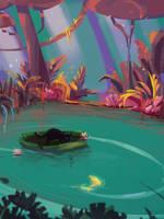 River cat by eltowergo