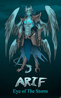 Arif, Eye of the Storm by TimeLordJikan