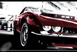 Muscle car by ArcAngelTyrael