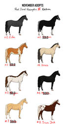 Points Adopts | Horses - RDR2 Edition [3/8] OPEN by PoisonSoldat